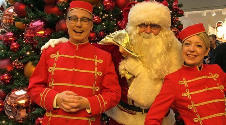 Weihnachtsfeier Unterhaltung.Weihnachtsfeier Unterhaltungskünstler Entertainment